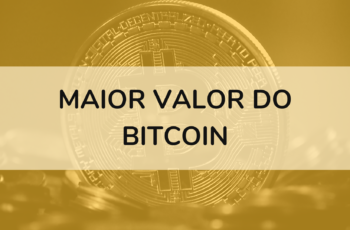 Maior valor do Bitcoin