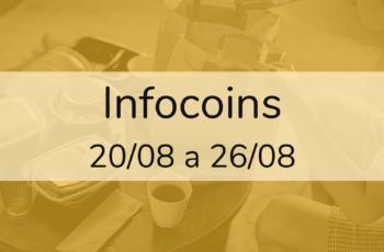 Infocoins – 20/08 a 26/08
